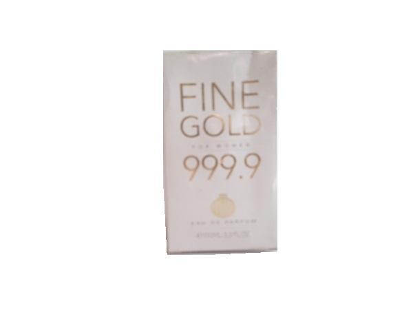 Parfum fine gold 999